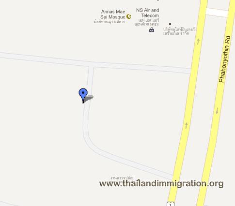 Thai Immigration - Chiang Rai