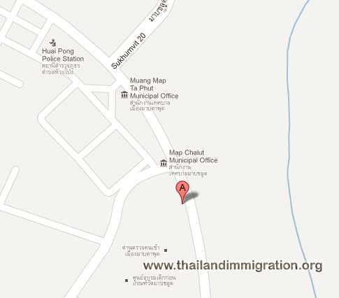 Thai Immigration - Rayong