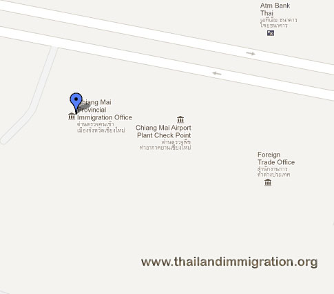Thai Immigration - Chiang Mai